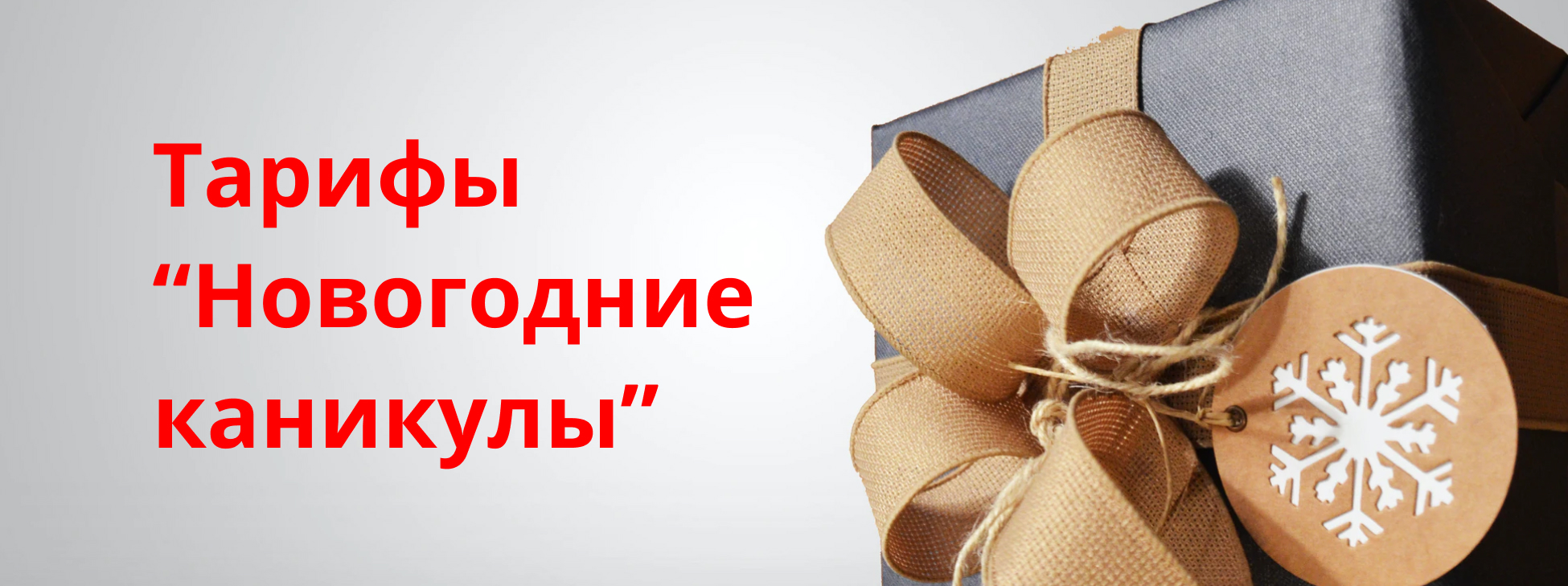 тарифы новогодние каникулы